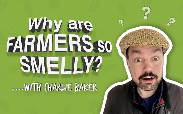 Comedian Charlie Baker