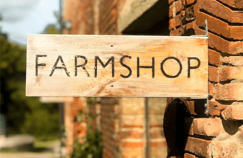 farmshop sign