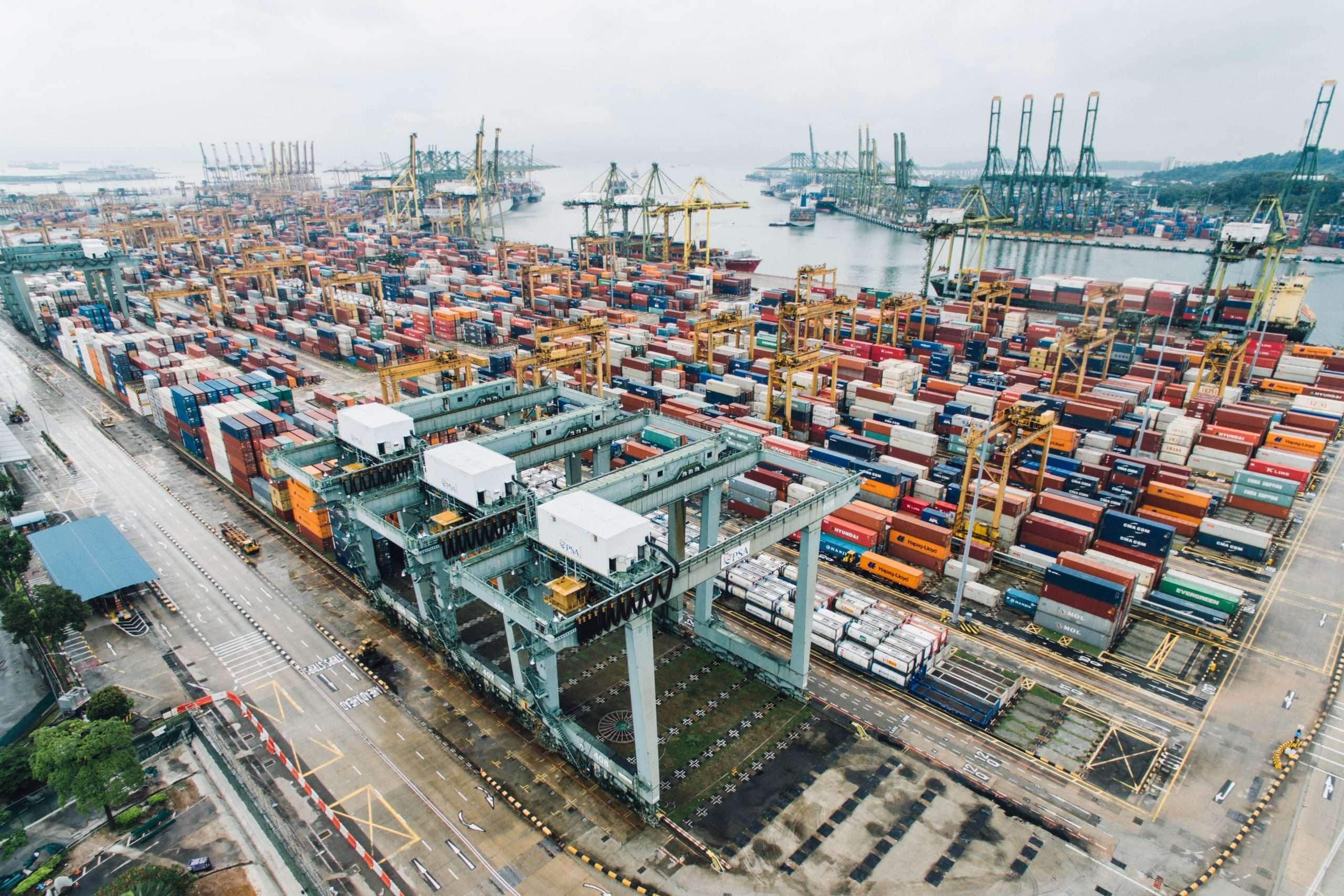 cargo dock