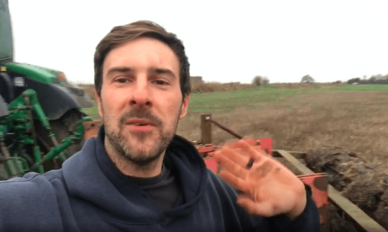 farmer Luke, subsoiling